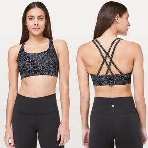 Lululemon Energy Bra in Trellis Bloom Size 12